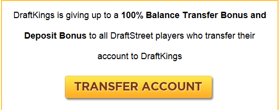 Draftkings Takes over Draft Street