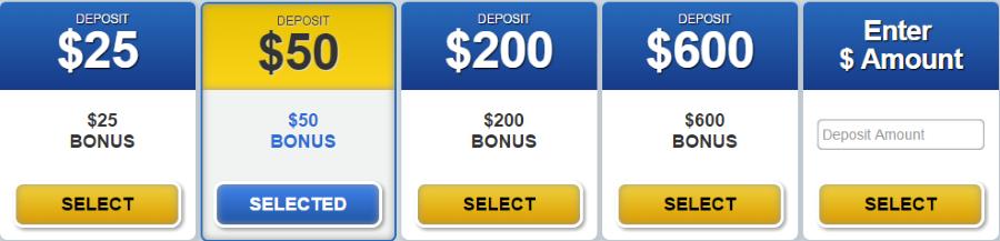 Pick the Bonus for You