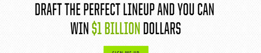Draftkings Perfect Lineup