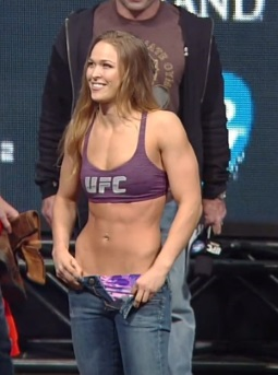 Ready to Fight Ronda