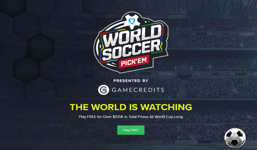 Time to Get Your Picks - World Cup Pickem
